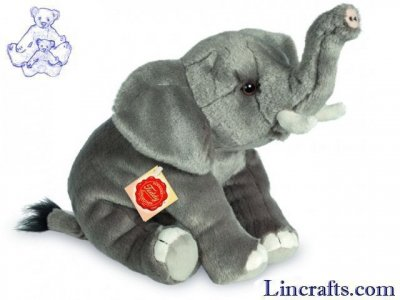 Soft Toy Elephant by Teddy Hermann (28 cm) 90729