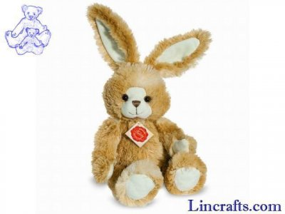 Soft Toy Bunny Rabbit, Gold, Dangling by Teddy Hermann (30cm) 93839