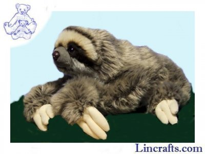 Soft Toy Sloth by Living Nature (30cm) AN401