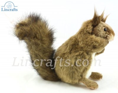 Soft Toy Squirrel by Hansa (26cm.L) 7238