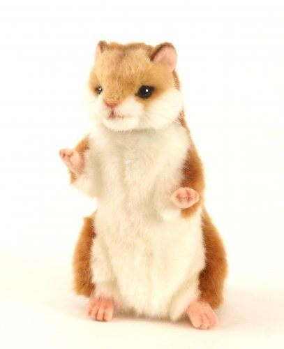Soft Toy Hamster by Hansa (17cm)