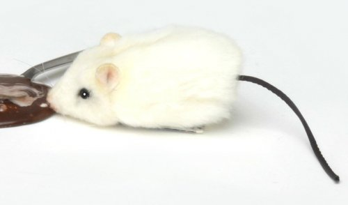 Soft Toy White Rat (Ratsky) by Hansa (9cm)