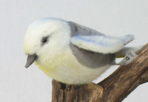 Soft Toy Bird, Great Tit (Meise) by Hansa (20cm)