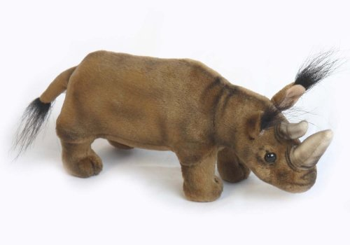 Soft Toy Rhinoceros by Hansa (21cm)