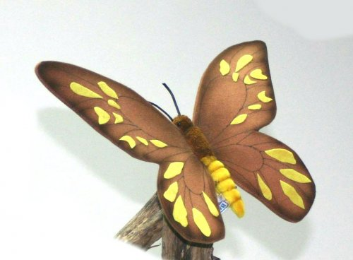 Soft Toy Female Butterfly by Hansa (36cm)