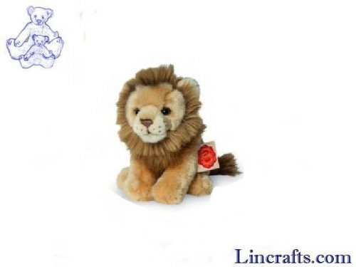 Soft Toy Wildcat, Lion by Teddy Hermann (15cm)