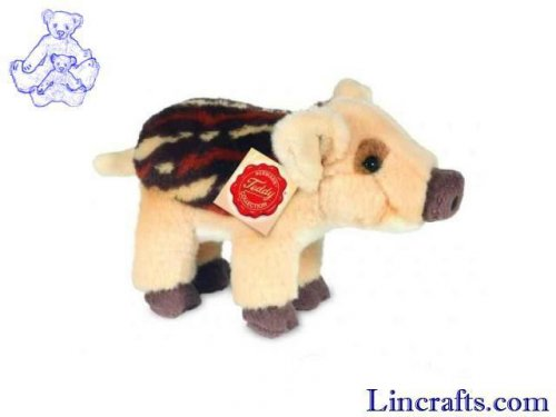 Soft Toy Wild Boar by Teddy Hermann (18cm)