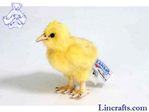 Soft Toy Yellow Chick by Hansa (12cm)