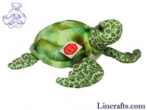 Soft Toy Turtle by Teddy Hermann (22 cm)