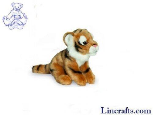 Soft Toy Wildcat Tiger by Teddy Hermann (15cm) 90411
