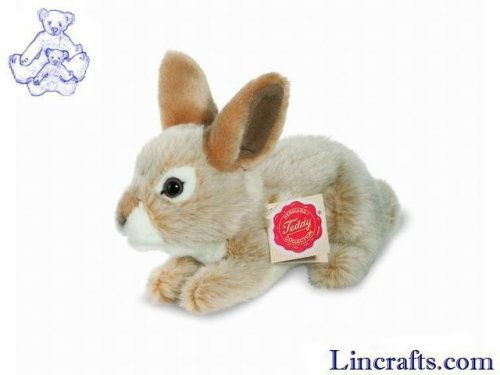 Soft Toy Beige Rabbit by Teddy Hermann (19cm)