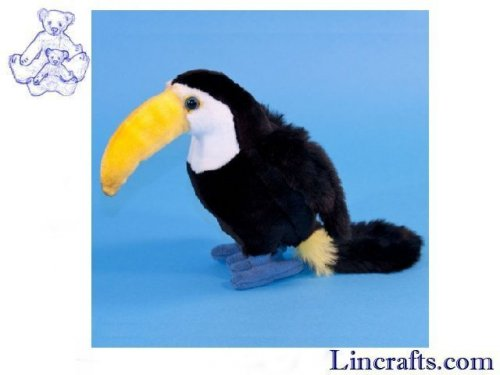 Soft Toy Bird, Toucan by Dowman Soft Touch (21cm)