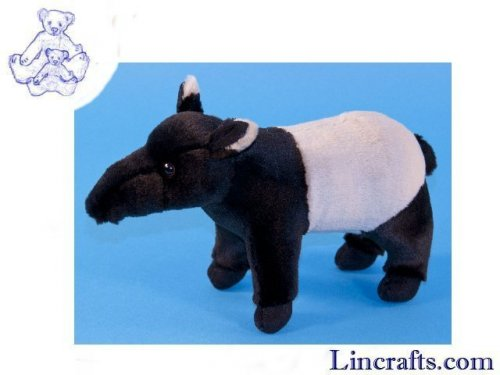 Soft Toy Malayan Tapir by Dowman Soft Touch (22cm)