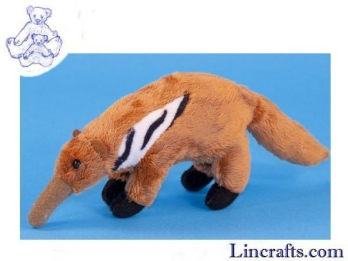 Soft Toy Mini Anteater by Dowman Soft Touch (16cm)