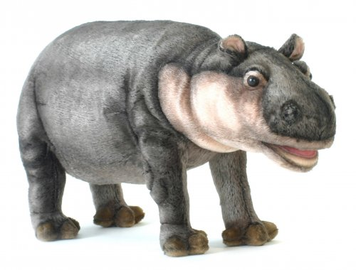 Soft Toy Hippo by Hansa (38cm)