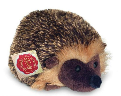 Soft Toy Hedgehog by Teddy Hermann (12cm)