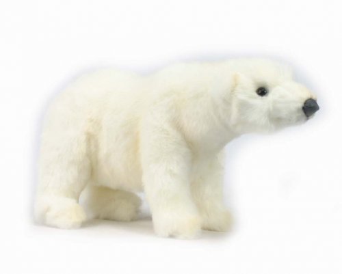 Soft Toy Polar Bear by Hansa (27cm)