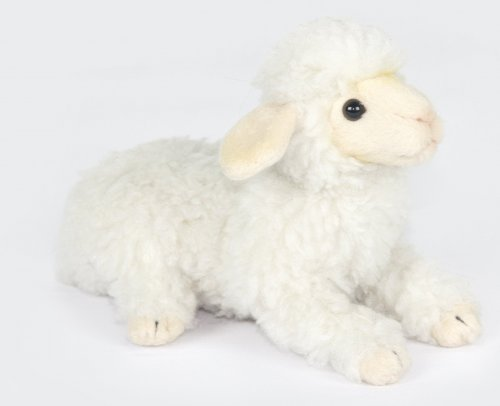 Soft Toy Lamb Lying by Hansa (20cm.)