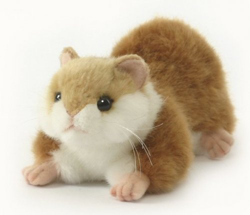 Soft Toy Hamster by Hansa (14cm)