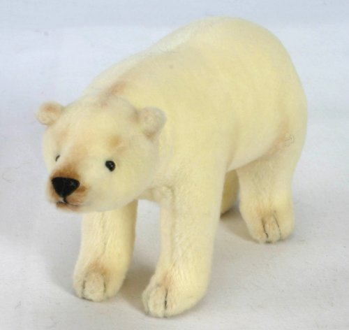 Soft Toy Polar Bear by Hansa (11cm)